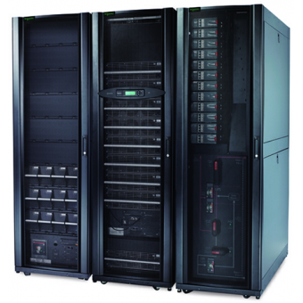 ИБП APC Symmetra PX 128 кВт, с возможностью масштабирования до 160 кВт, 400 В, с интегрированной модульной распределительной системой