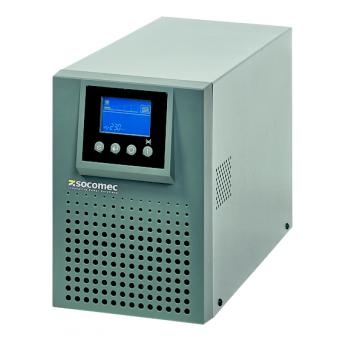 Стоечный ИБП (UPS) Socomec ITYS 1-11 – однофазный двойного преобразования (онлайн), стоечного исполнения, мощностью 1 кВА