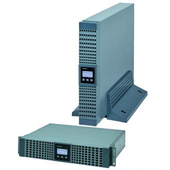 ИБП (UPS) Socomec NETYS RT 1100 ВА – однофазный двойного преобразования (онлайн), напольно-стоечного типа, мощностью 1,1 кВА